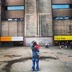 Admiring the Tate Modern