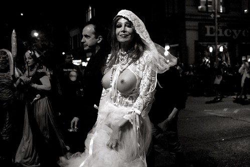 The Bride Wore White by PatMinNYC