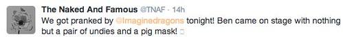 TNAF tweet