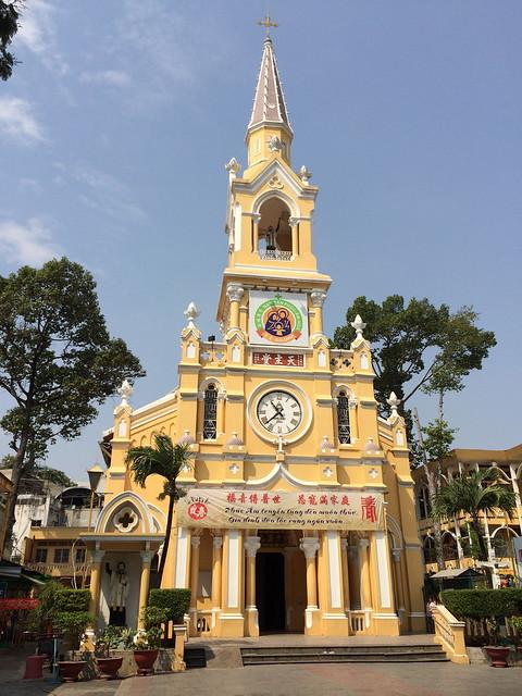 Nha Tho Cha Tam Church