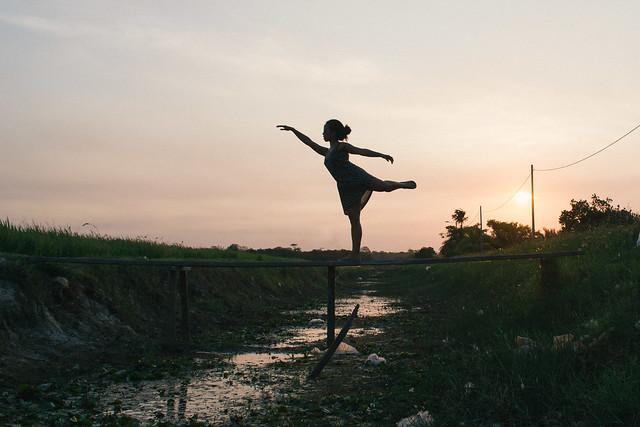 Ballerina girl...