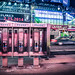 NYC Times Square - Phone Booths by M. Kafka