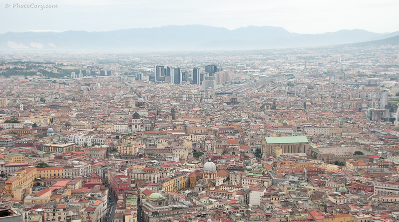 Napoli - buildings overview