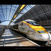 Eurostar Train @ St Pancras Railway Station, London, England :: HDR by :: Artie | Photography :: Travel ~ Oct