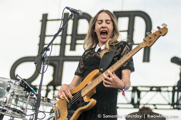 Haim @ Coachella 2014 Weekend 2 - Friday