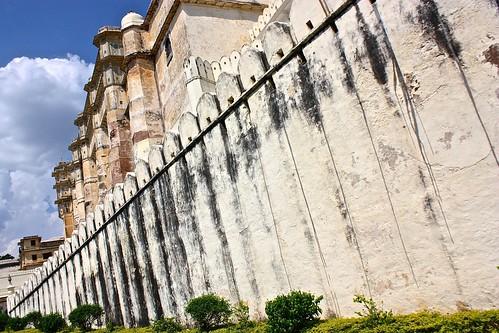 Udaipur City Palace walls