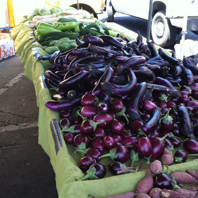 Eggplant @ Daly City Farmers' Market at Serramonte Center