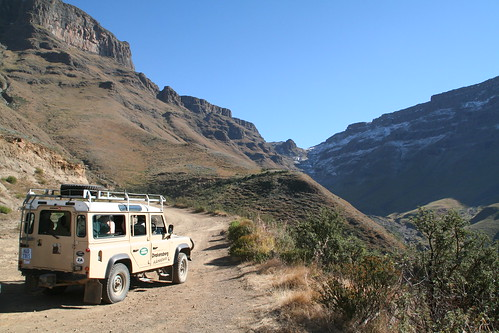 Land Rover ready to keep heading up the Pass