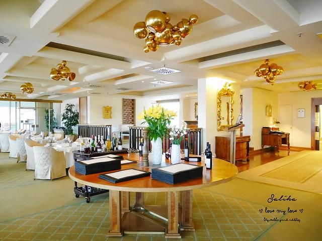 布拉格夜景景觀餐廳推薦洲際酒店晚餐 (7)