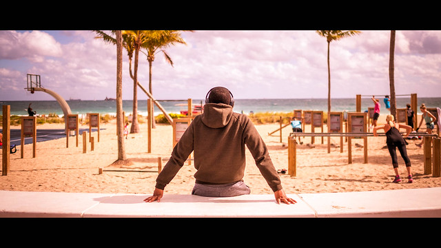 Like a boss - Fort Lauderdale, United States - Color street photography