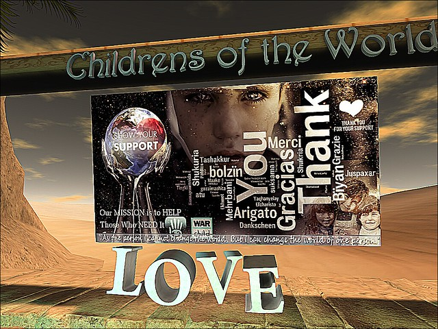 Children of the World -To Give Is To Live