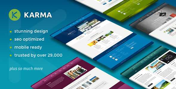 Karma WordPress Theme free download