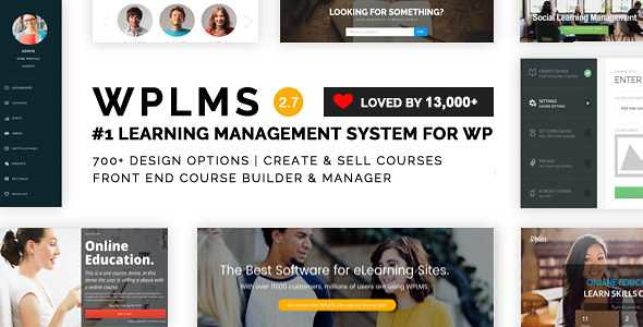 WPLMS WordPress Theme free download