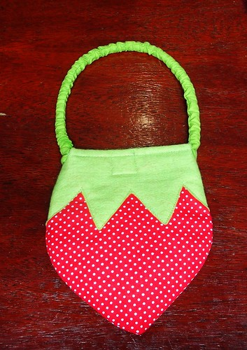 Bolsa Moranguinho by Cute for Baby by Mirian Rezende