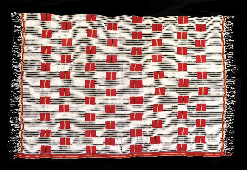 Ewe Kente man's cloth (circa 1920-40)