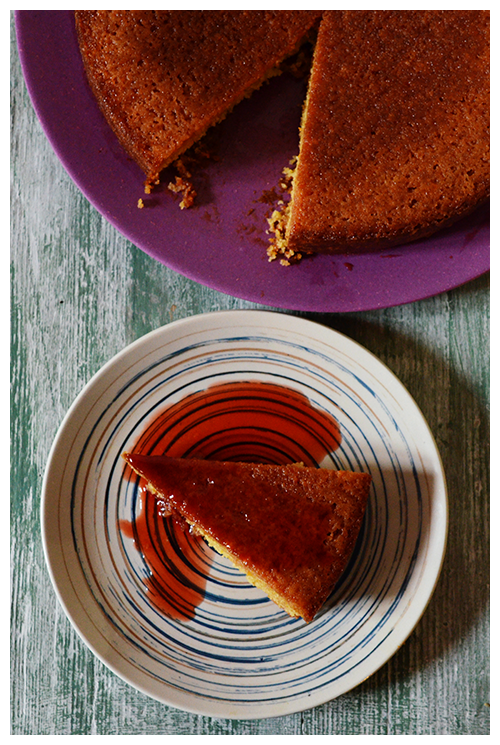 tarocco orange syrup cake© by Haalo