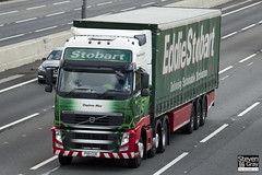 Volvo FH 6x2 Tractor - PX11 CCE - Daphne May - Eddie Stobart - M1 J10 Luton - Steven Gray - IMG_0031