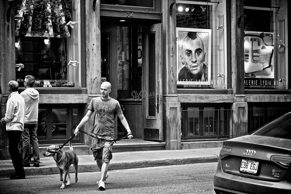 The man, his dog and DeNiro