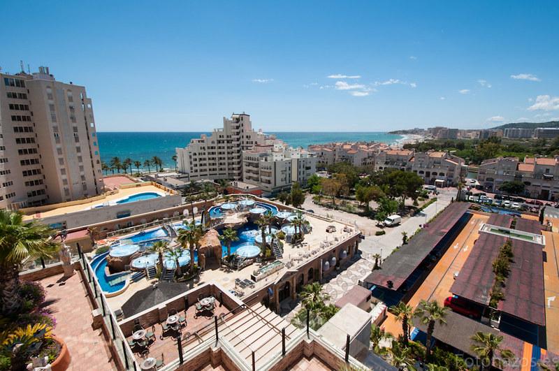 Un fin de semana en el hotel balneario de agua marina de Marina D'or