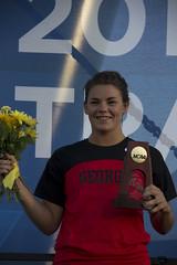 Women's Javelin Throw Champion