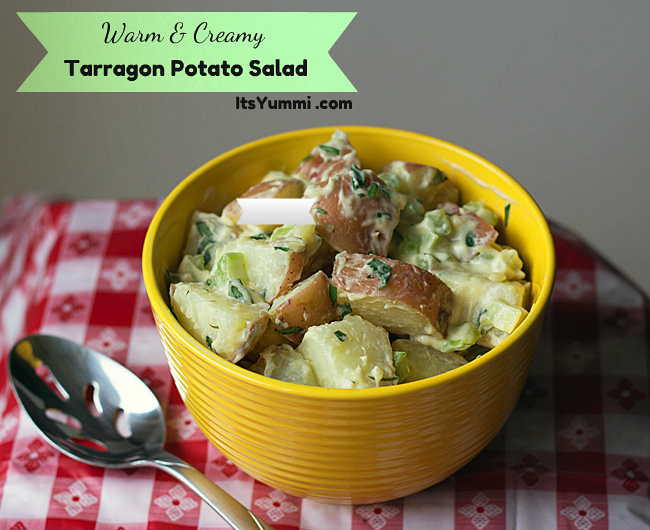 Tarragon Potato Salad from ItsYummi.com