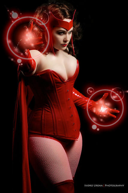 Scarlet Witch by CAJCosplay