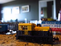 Santa Fe MDT Plymouth 0-6-0 Diesel Locomotive (#32) is an N Scale Model