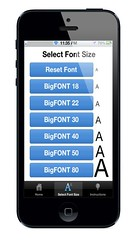 BigFONT Text Sizes