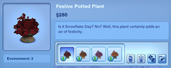 Festive Potted Plant