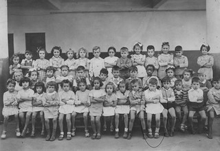 photo de classe Maroc Casablanca 1946-1947