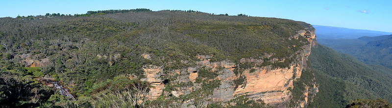 Wentworth Falls (taken from the beginning of the walk)