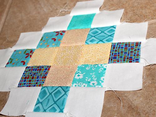 Granny square quilt block #1