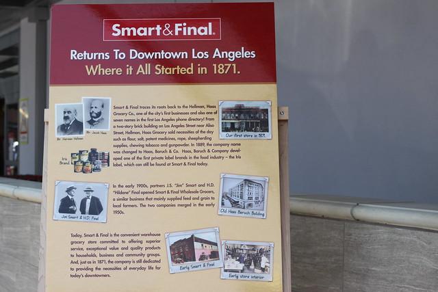 Smart & Final Grand Opening Downtown LA #ChooseSmartLA