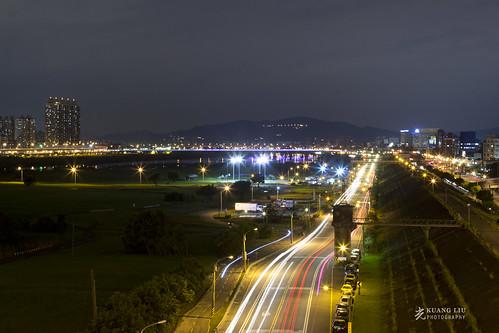 新北大橋夜拍