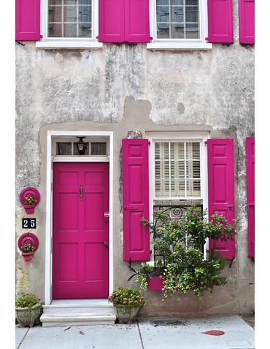 pink-doors