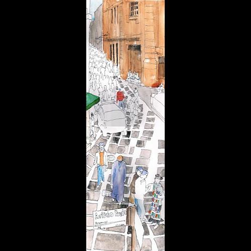 Caligrafia Urbana: São Bento esquina Antonio Prado #saopaulosp  #saopaulocity by Dalton de Luca