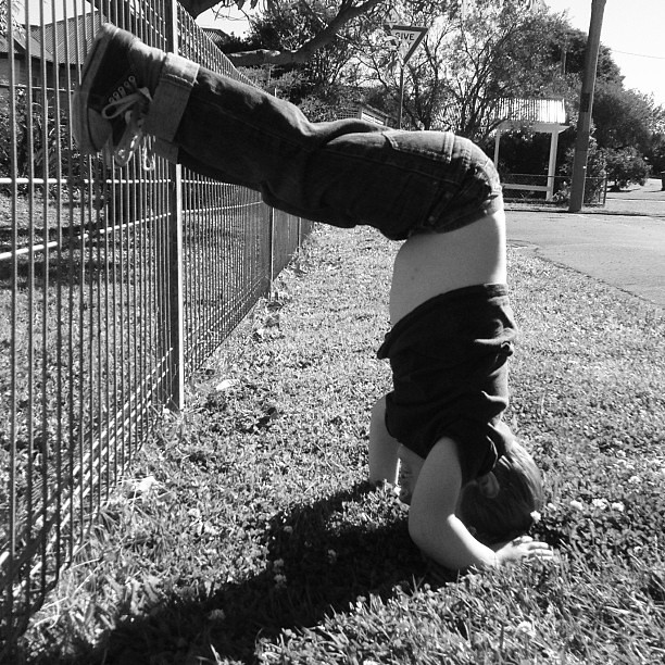 I love four year olds. #headstand #asyoudo