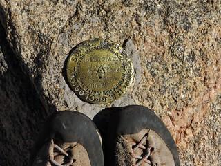 Mt. Bierstadt USGS Summit Marker