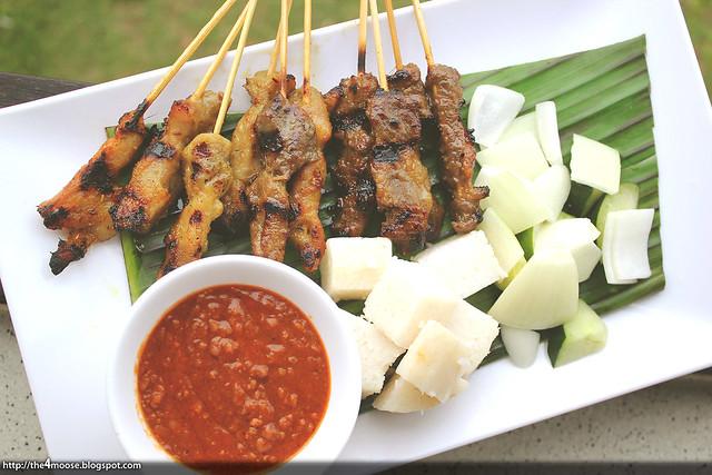 Changi Bistro - Bistro's Satay