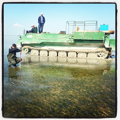 Yah I was working off an amphibious tank today. by gravityenv
