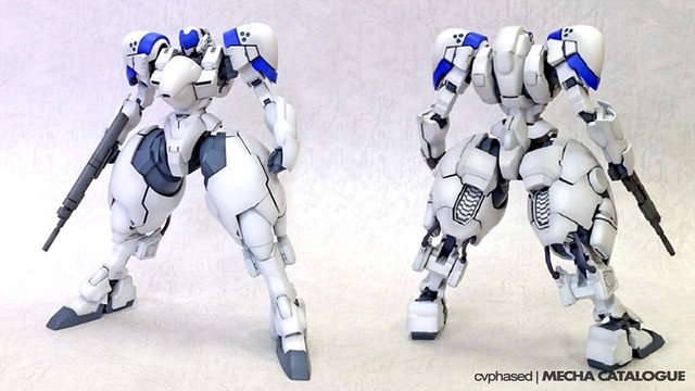 1/35 Power Loader X-4 + (PD-802) 装甲歩兵 - Colored Prototype Images