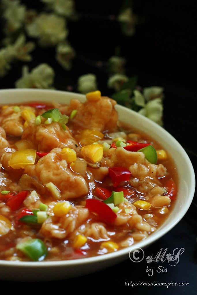 ... Gobi Manchurian with Gravy Recipe | Indo-Chinese Gobi Manchurian