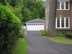 Garage of Home Alone house