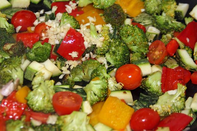 Pappardelle en Salsa Multicolor   (40)