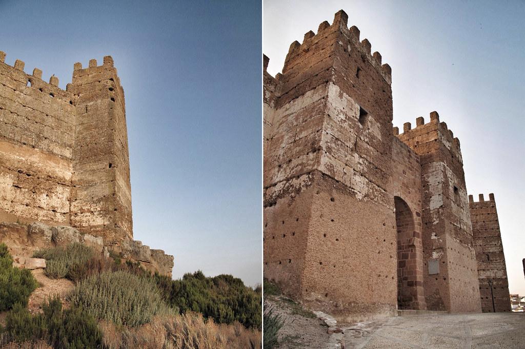 castillos baños de la encina_tapial, cal, tierra