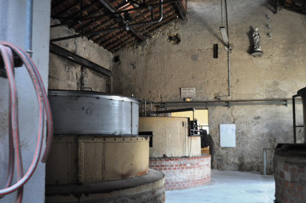Cauldrons Where Marseille Soap is Made at Marius Fabre Soap Factory