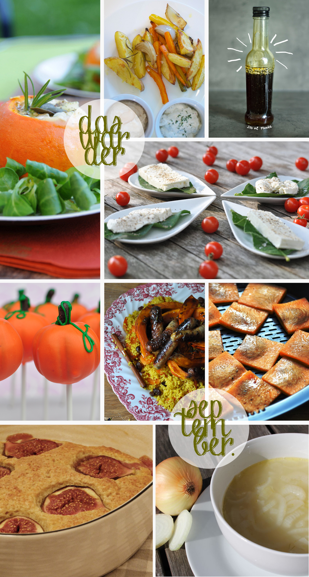 in den töpfen der österreichischen foodblogger: september