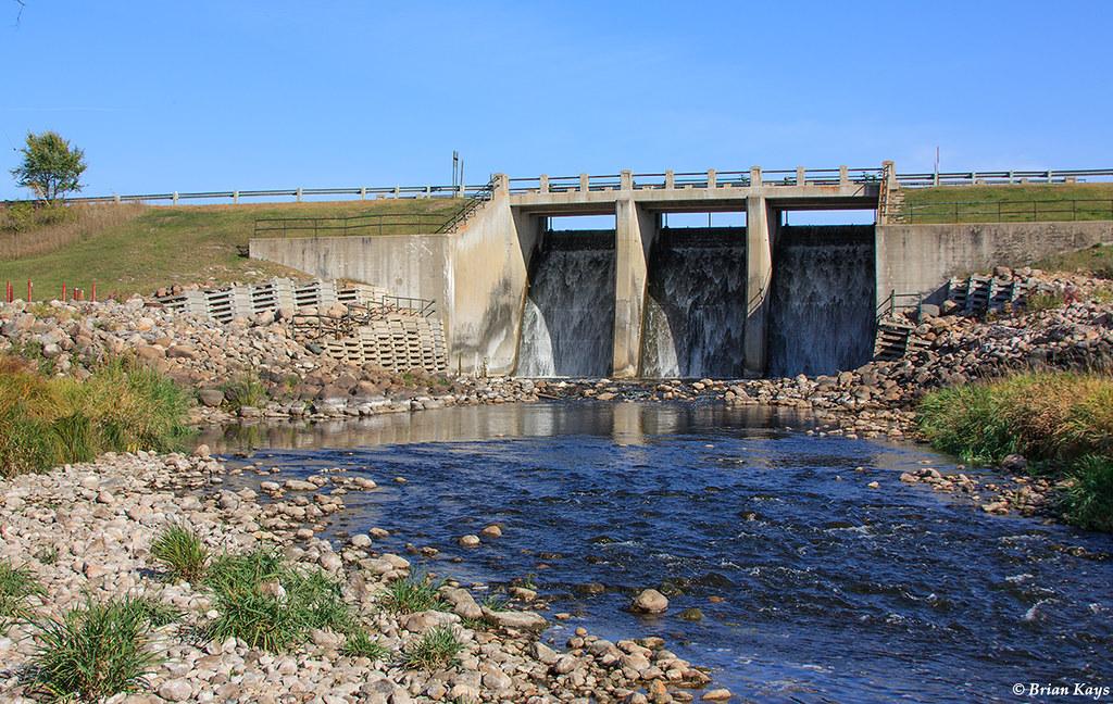 Lake Bronson Dam - Lake Bronson, Kittson County, Minnesota