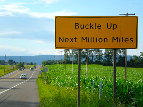 Buckle up on the BLR