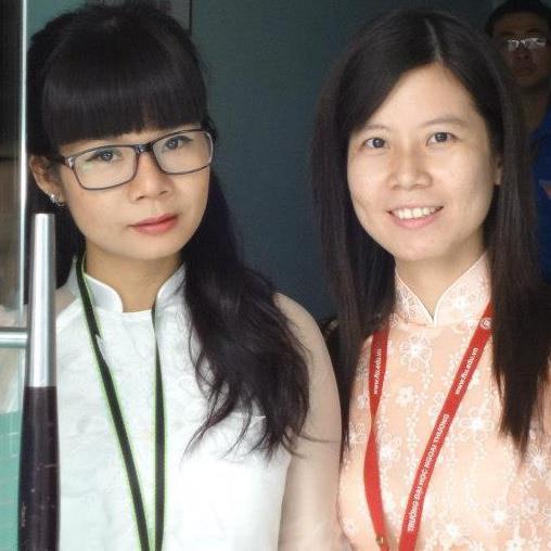 Cô Tô Thùy Trang - giảng viên thân thiện